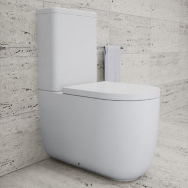 Monoblock-WC ohne Rand Milady Olympia Ceramica