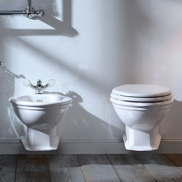 Classic wall-hung sanitary ware Impero Olympia Ceramica