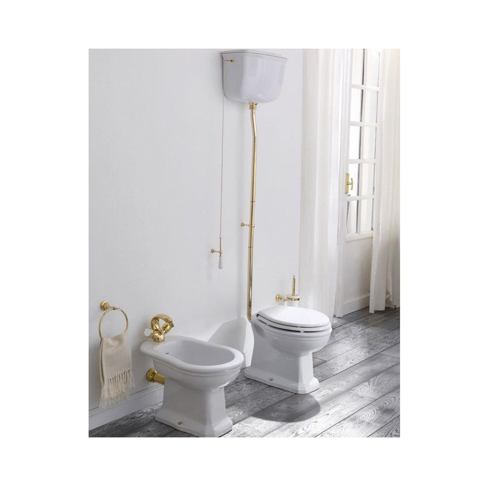 sanitari a terra con vaso cassetta esterna Impero Olympia Ceramica