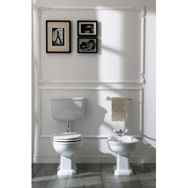 vaso con cassetta wc esterna a zaino e bidet Impero Olympia Ceramica