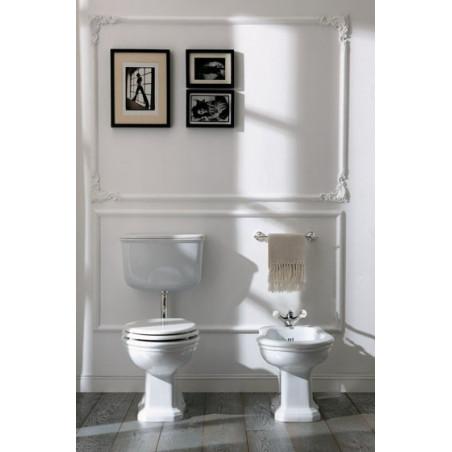 WC avec réservoir de toilette extérieur et bidet Empire Olympia Ceramica