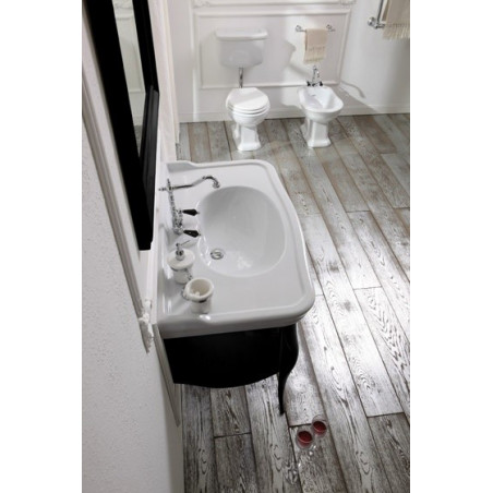 sanitaire au sol avec coffre à dos Olympia Ceramica prix