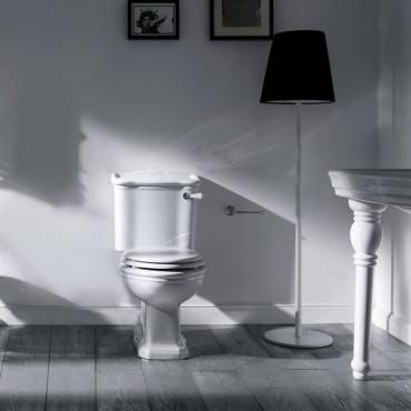 WC monobloc avec levier avant Olympia Ceramica Empire