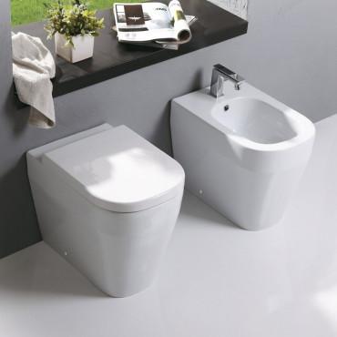 prix des toilettes sans rebord Tutto Evo Olympia Ceramica