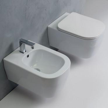 sanitaires suspendus sans monture sans monture Tutto Evo Olympia Ceramica
