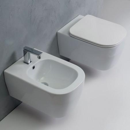 sanitaire suspendu sans monture sans monture Tutto Evo Olympia Ceramica