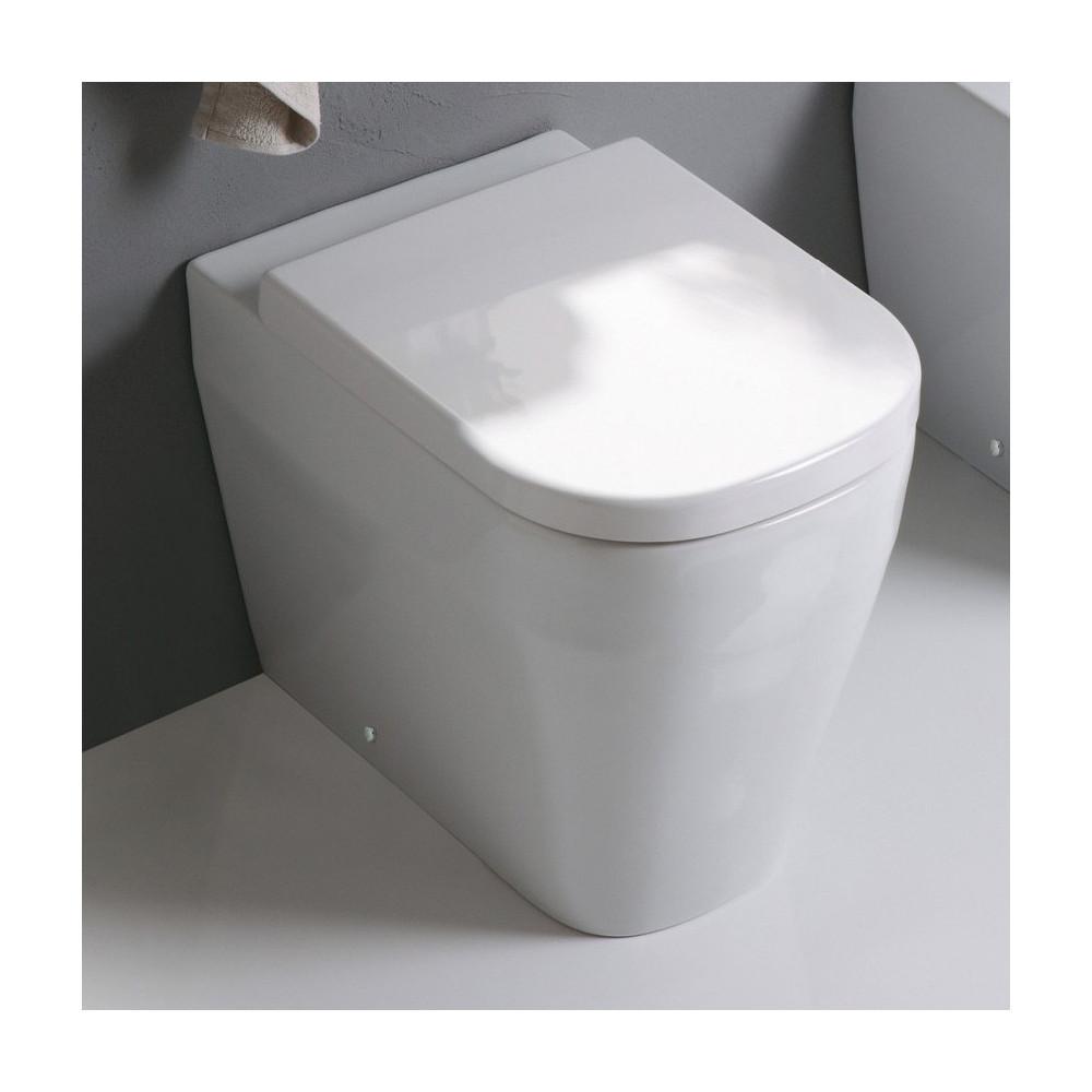 cuvette de toilettes sans rebord Tutto Evo Olympia Ceramica