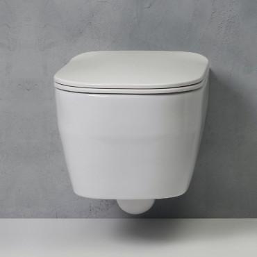 toilettes sans jante prix Tutto Evo Olympia Ceramica
