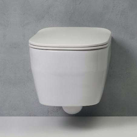 toilettes suspendues sans rebord Tutto Evo Olympia Ceramica