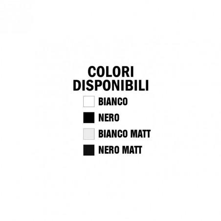 sanitari filoparete Crystal colori