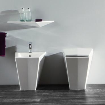 Sanitaires design Crystal Olympia Ceramica