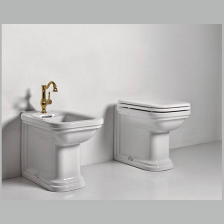 robinets de salle de bain en laiton doré Gaboli Flli Rubinetteria