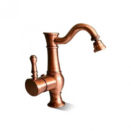 mélangeur de bidet en cuivre robinet rétro Gaboli Flli Rubinetteria