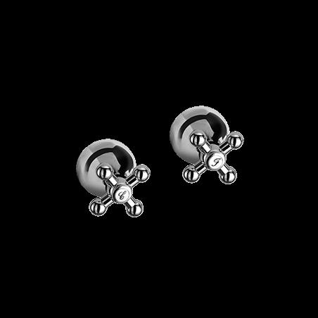 groupe de douche de salle de bains classique Gaboli Flli robinets