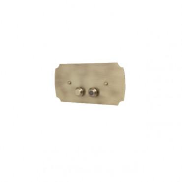plaque de déclenchement wc accessoires de salle de bain IdeeArredo