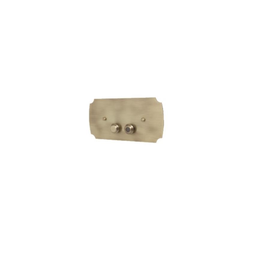 accessoires de toilette à plaque de chasse IdeeArredo