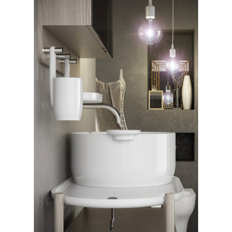 lavabo ad appoggio Olympia ceramica