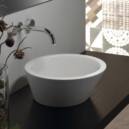 Vasques à poser rondes Olympia Ceramica