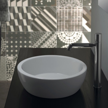 Olympia Ceramica countertop sinks