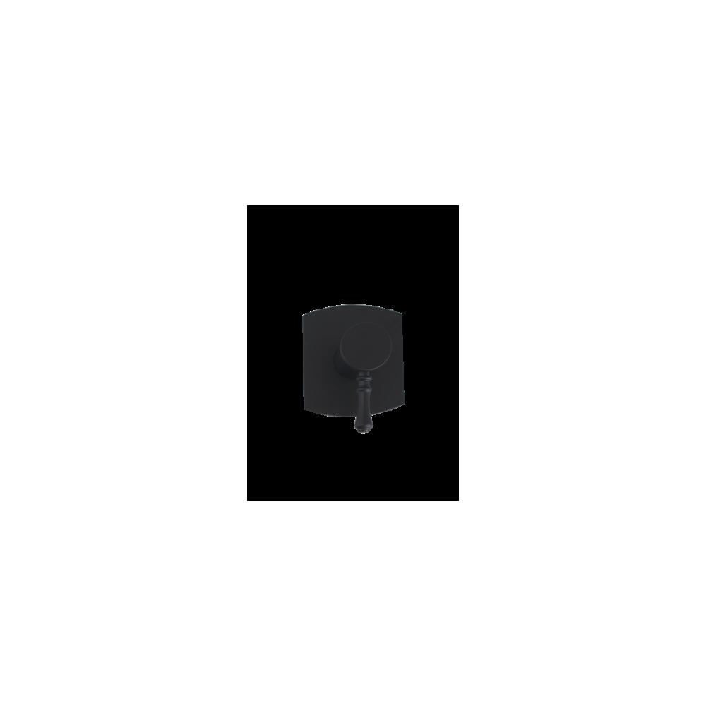 Mitigeur de douche noir Gaboli Flli Rubinetteria