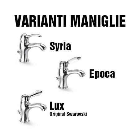 rubinetteria bagno stile antico Gaboli Flli Rubinetteria