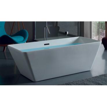 modern rectangular bathtub Iris 160
