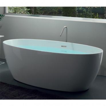 ovale Badewanne bieten freistehende Silene 170
