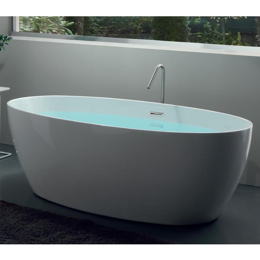 vasca da bagno ovale offerta centro stanza Silene 170