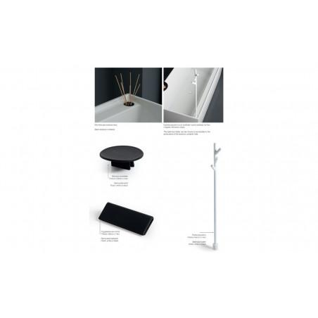 Quadra 180 bathtub accessories