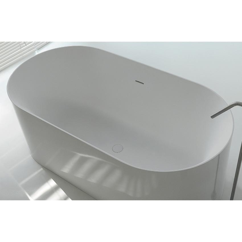 vasca freestanding solid surface Hoop 160