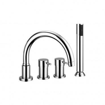 prix robinets bord de baignoire robinets Gaboli Flli