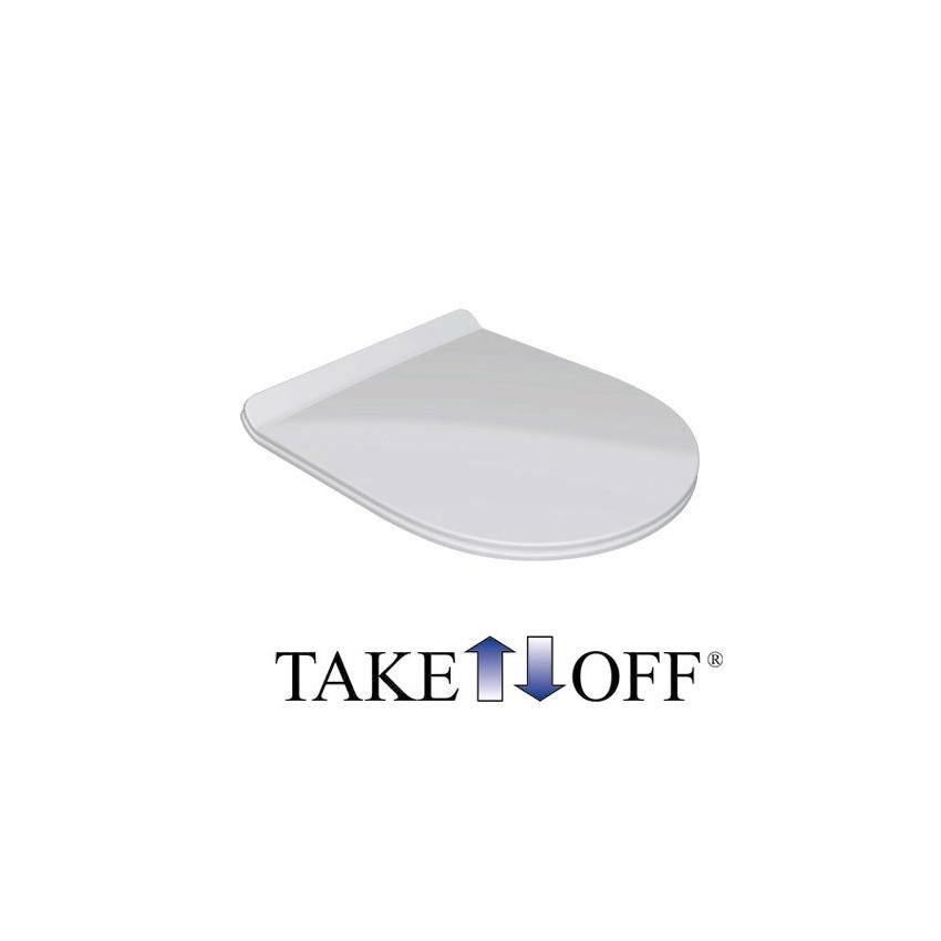 WC-Sitz Klare Olympia Keramik