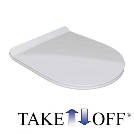 toilet seat cover Clear Olympia Ceramica