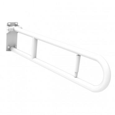 Maniglione ribaltabile disabili bianco 60 Ital-Secure by Goman
