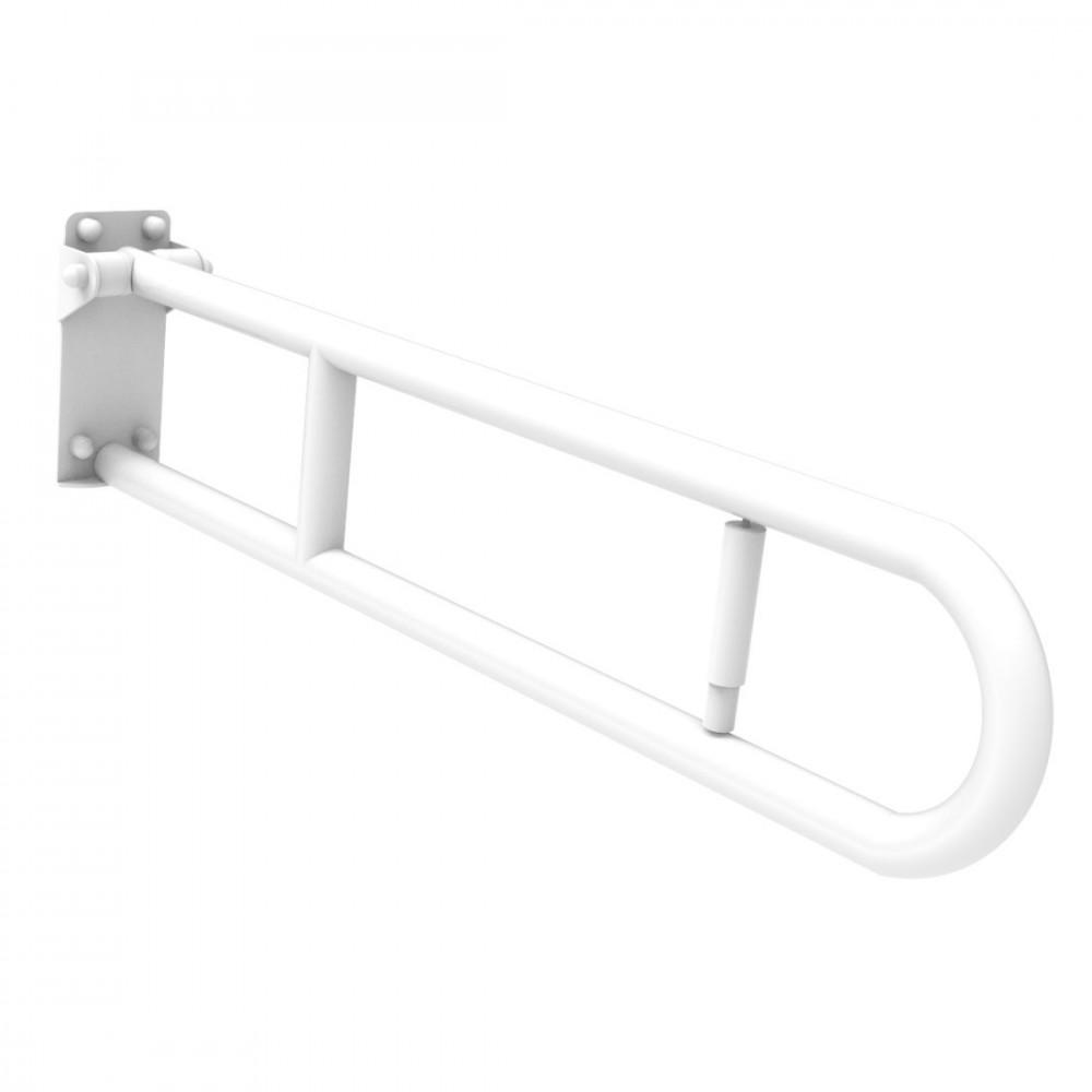 Poignée pliante blanche pour personnes handicapées 60 Ital-Secure by Goman