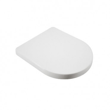 Siège de toilette en céramique Olympia transparent