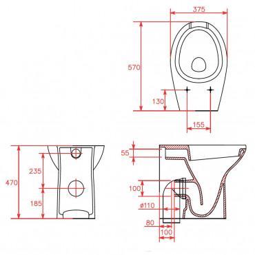 accessoires de salle de bain pour handicapés Goman