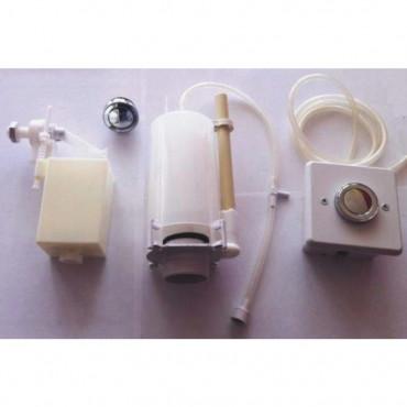 Mécanisme de chasse d'eau monobloc Goman pour toilettes handicapés