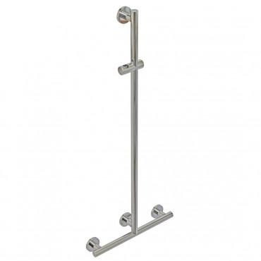 Barre de douche en acier inoxydable pour personnes handicapées sans douchette Goman