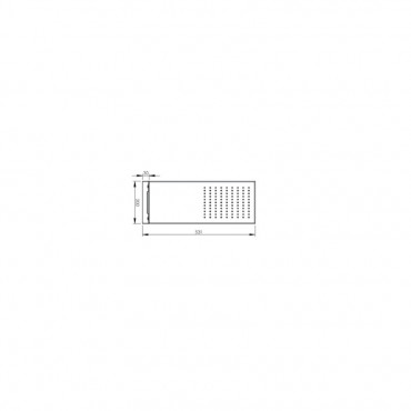 colonna idromassaggio per doccia, schema soffione Gaboli Flli rubinetteria