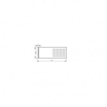 colonne d'hydromassage pour douche, schéma de pommeau de douche Gaboli Flli robinets