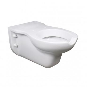 Toilettes suspendues pour personnes handicapées