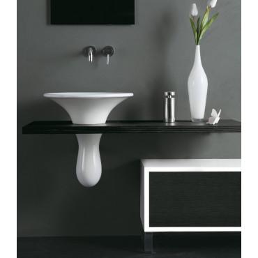 Top per lavabo Sospeso Olympia Ceramica