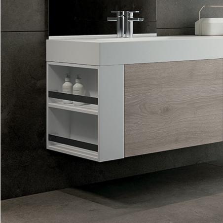 meuble de salle de bain en bois Blues 2.0 BMT Bagni