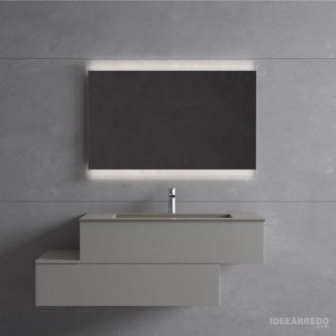 Meubles de salle de bain décalés Blues 2.0 BMT Bagni