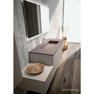 meuble de salle de bain suspendu en quinconce Blues 2.0 bmt bagno