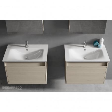 arredo bagno doppio lavabo online Mars Everyday BMT Bagni