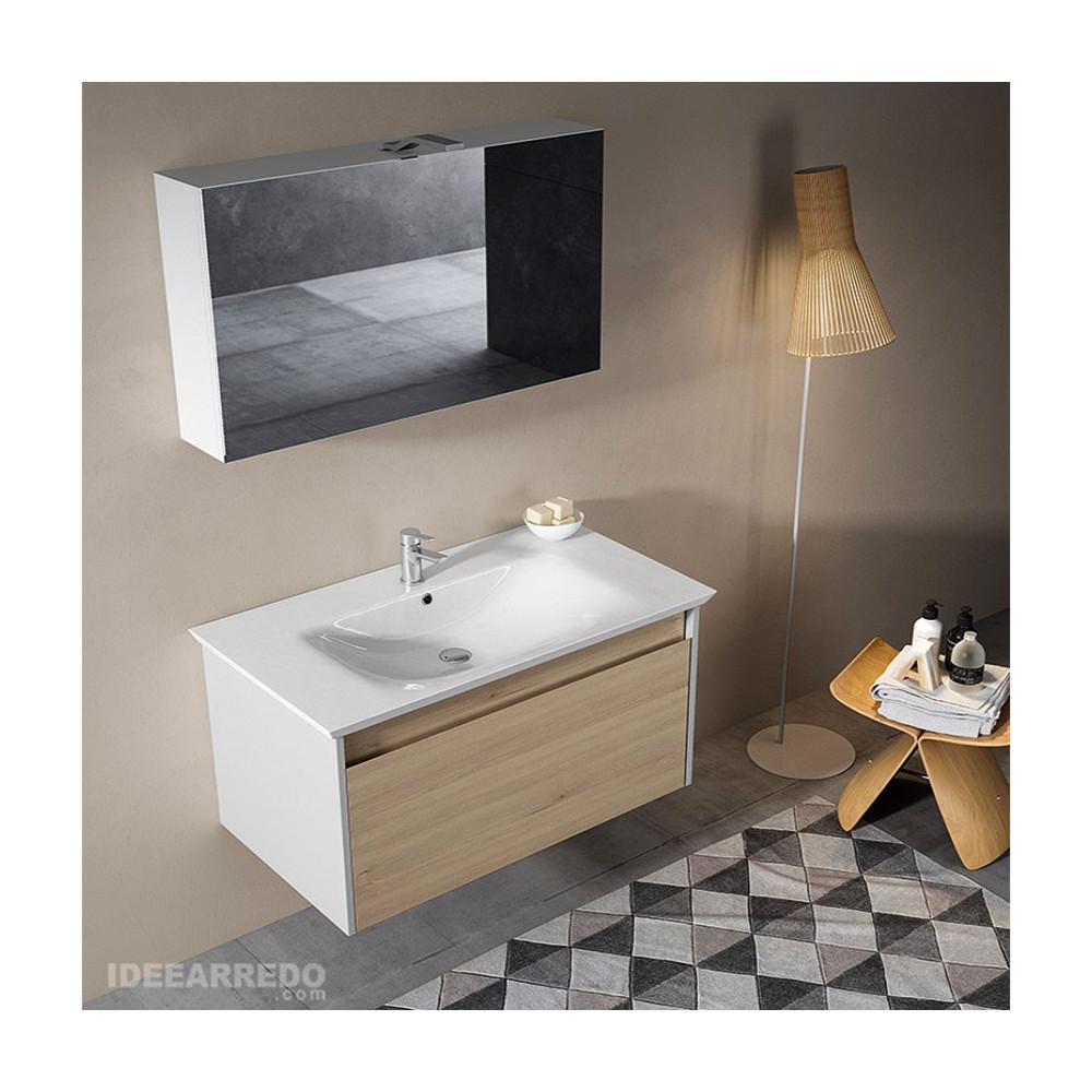 Meuble sous-vasque de salle de bain Mars Bmt Bagni