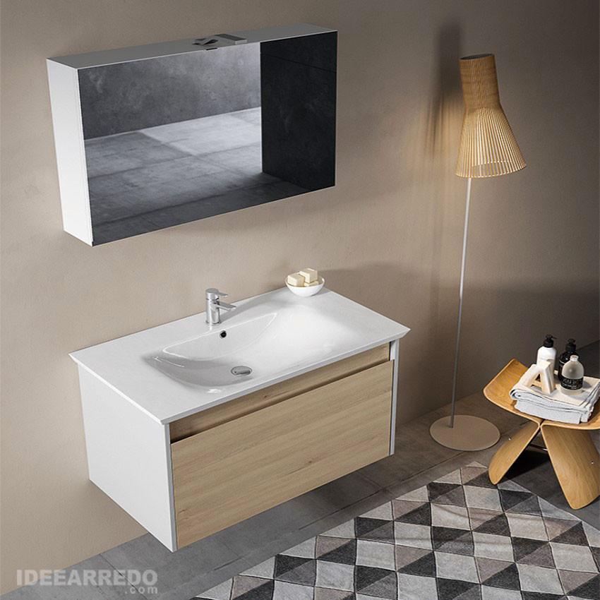 Mars Bmt Modern Suspended Bathroom, Suspended Bathroom Vanity