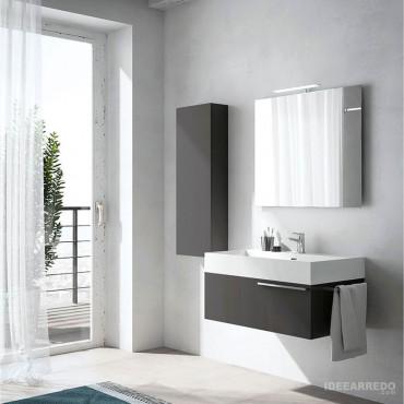 Mueble de baño Mercury Bmt Bagni que ahorra espacio